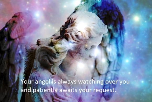 angel statue